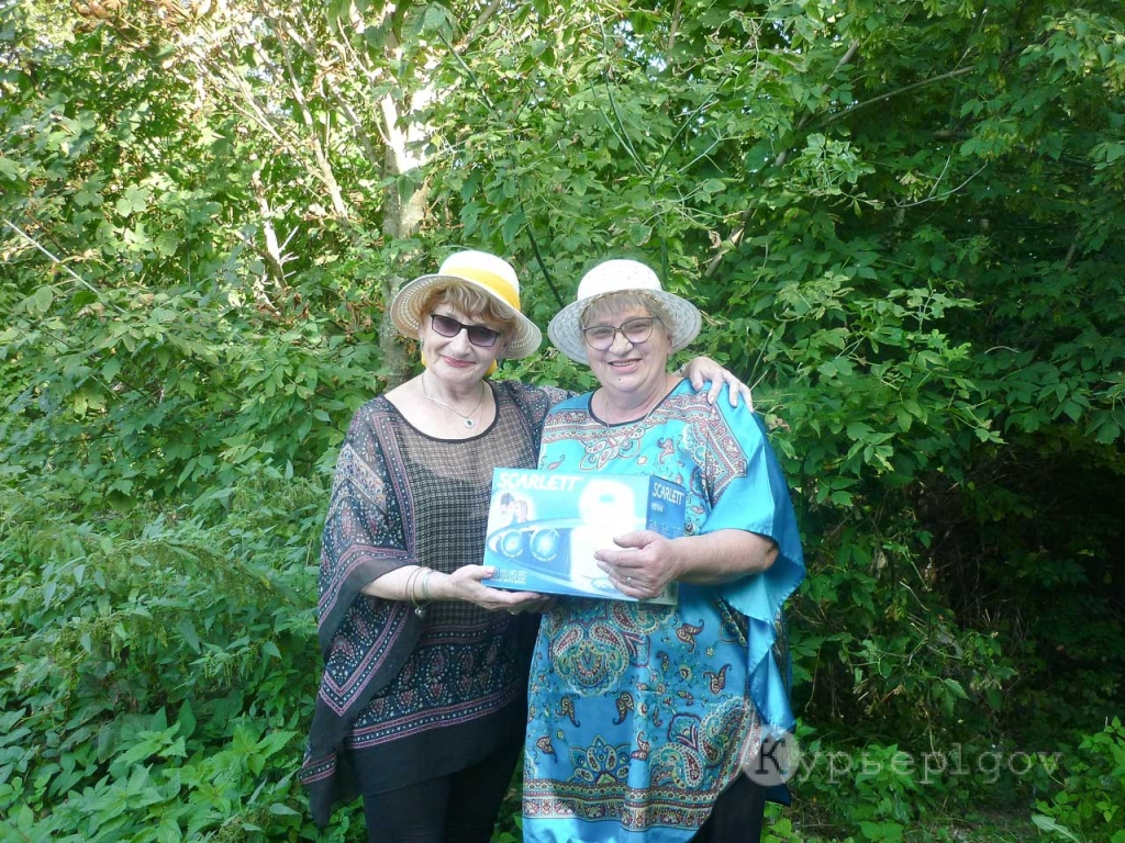 Валентина Тимофеевна Непорядкина выиграла в конкурсе подписчиков миксер