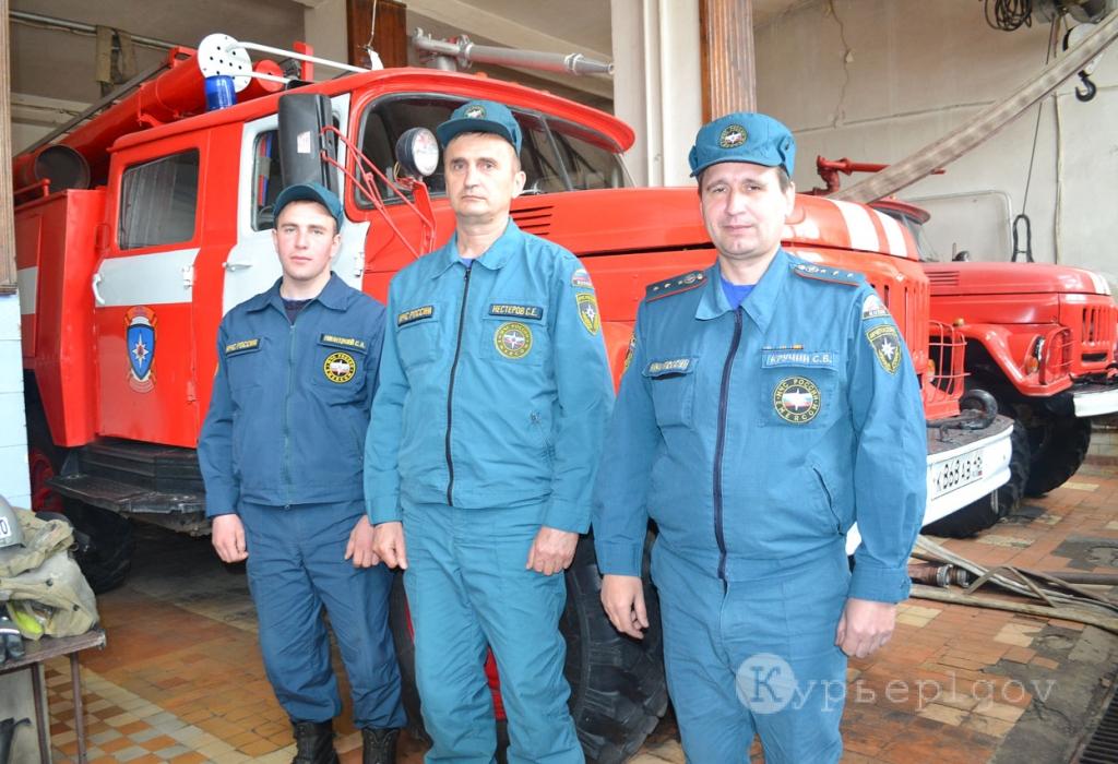 На снимке: Сергей Пилецкий, Сергей Нестеров и Сергей Кручин (слева направо)