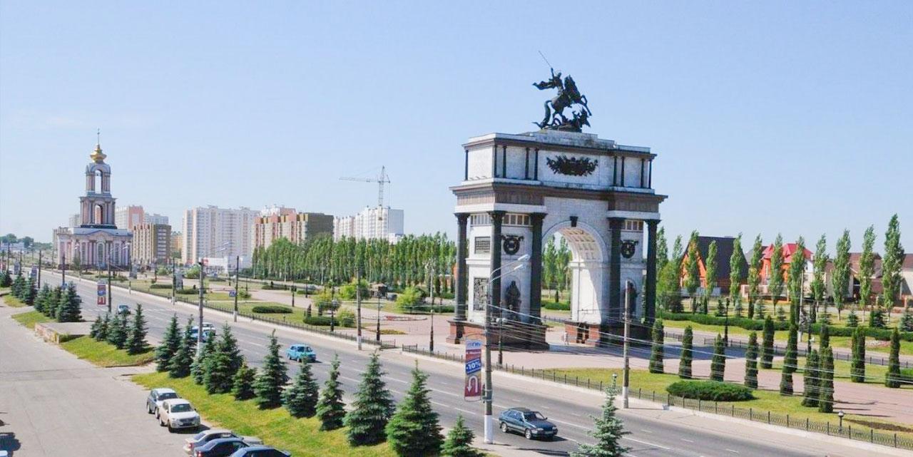 Величественная Триумфальная арка является одним из экспонатов мемориального комплекса «Курская дуга» - Читайте подробнее на FB.ru: http://fb.ru/article/284354/triumfalnaya-arka-kursk-foto-opisanie-istoriya-adres
