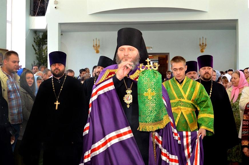 В Железногорском Свято-Троицком кафедральном соборе