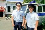 Сотрудники полиции Антон Минайлов и Иван Коньшин