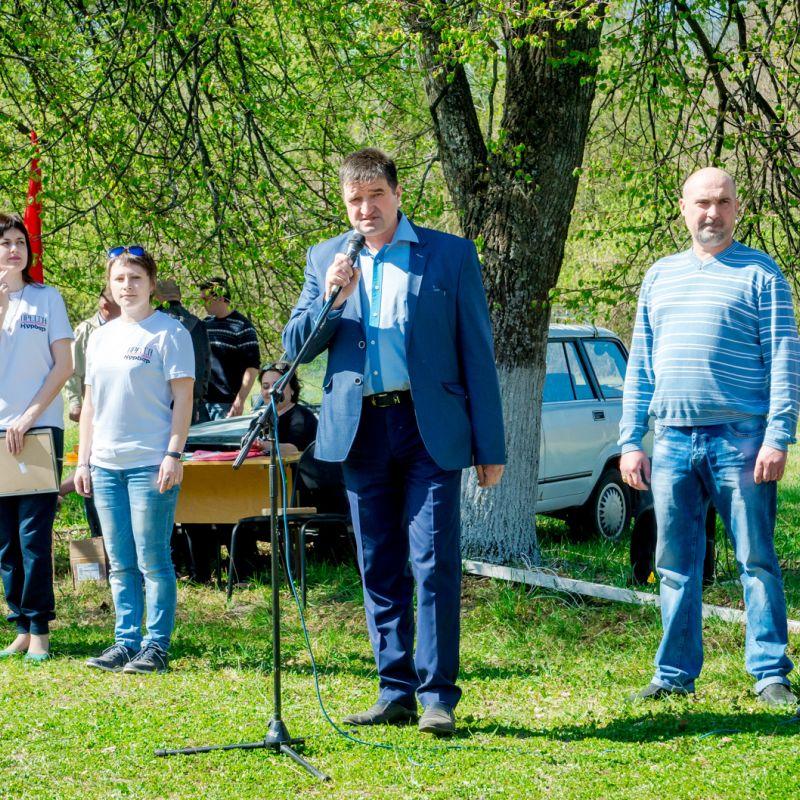 Глава Льговского района Сергей Коростелев