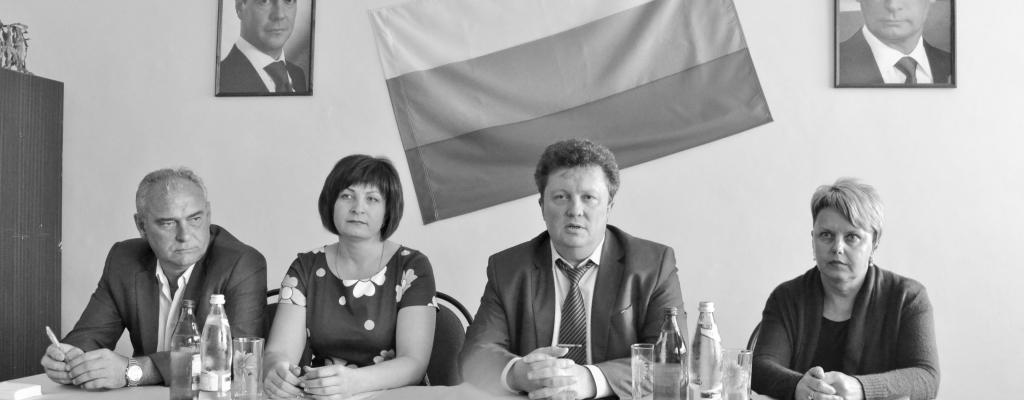 И. П. Газинский, С. В. Моргунова, И. А. Афонькин, Л. Р. Логачева (слева направо)