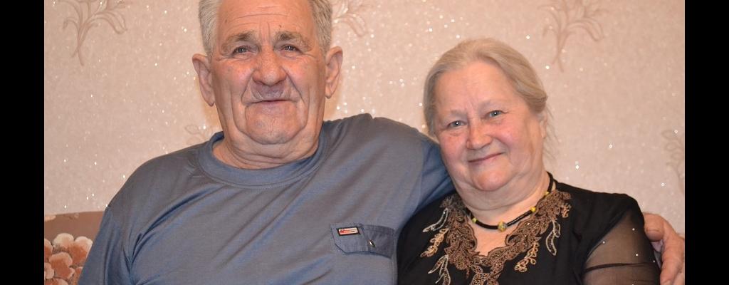 Николай Семенович Брынцев с женой Надеждой Григорьевной