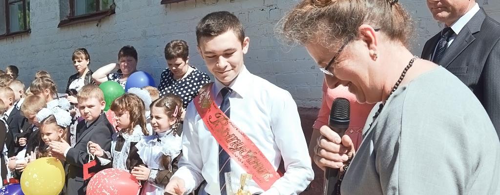 Рекордсменом по количеству полученных наград стал девятиклассник Михаил Салтыков