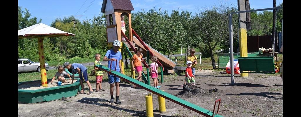 На площадке Ивановых каждый ребёнок найдёт себе занятие по душе!
