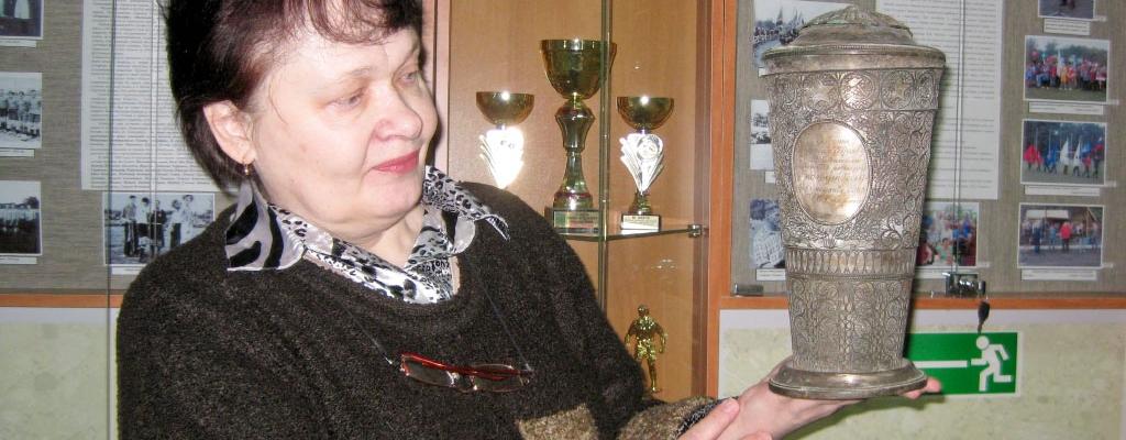 Директор Музея спорта Елена Васильевна Гурьева