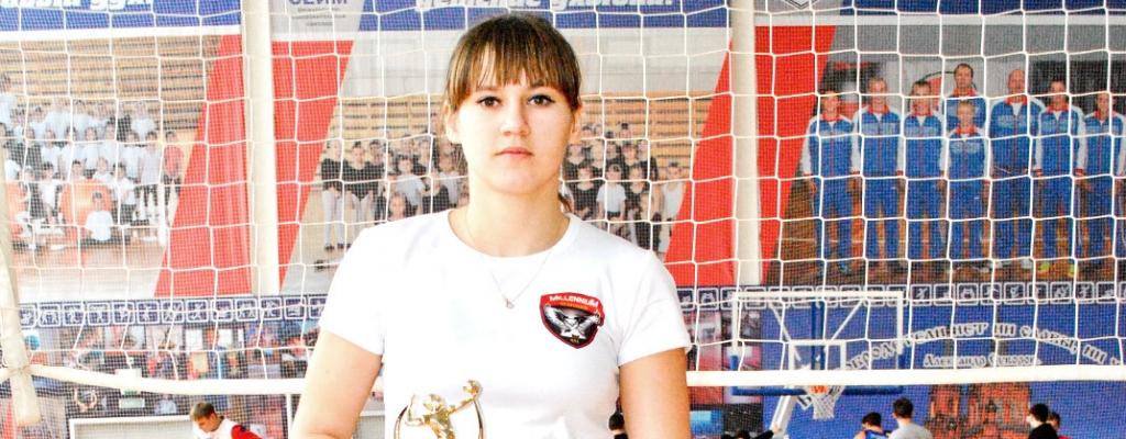Заводилой в команде организаторы турнира отметили Анастасию Подстрелу. Настя учится в Курской СХА и выступает за областную команду «Куряночка».