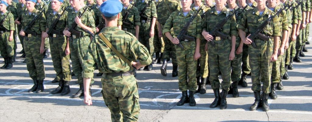 Подобраны кандидаты для службы в Президентском полку, Батальоне Почетного караула, Семеновском полку, спецназе и ВДВ...