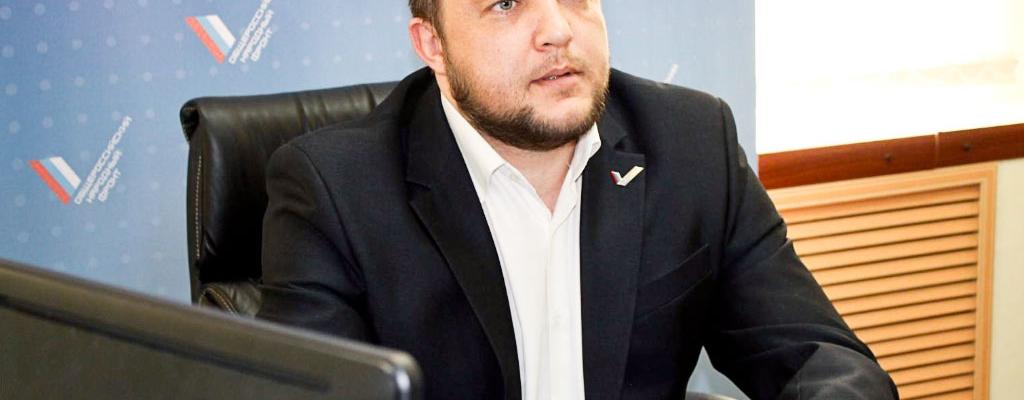 Руководитель ОНФ Курской области Владислав Александрович Шелест