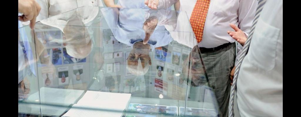 Александр Михайлов принял участие в церемонии открытия нового музея Курского железнодорожного узла